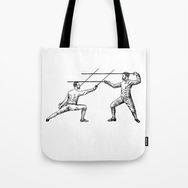 Dueling Hashtag Tote Bag