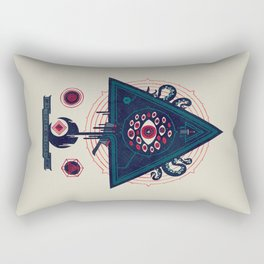 All Seeing Rectangular Pillow