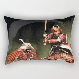 Samurai Warriors Baseball Furies Rectangular Pillow