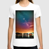 milky way T-shirts featuring Milky Way over Water by 2sweet4words Designs