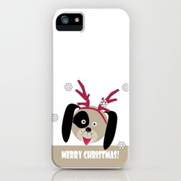 Merry Christmas!1 iPhone Case