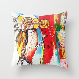 The Anatomy of Self Infliction  Throw Pillow