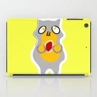 racoon iPad Cases featuring Racoon by Jessica Slater Design & Illustration