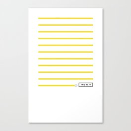 0:59 Canvas Print