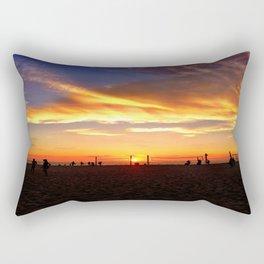 """Hermosa Beach """"Volleyball"""" Rectangular Pillow"""