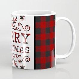 Plaid Merry Christmas Coffee Mug