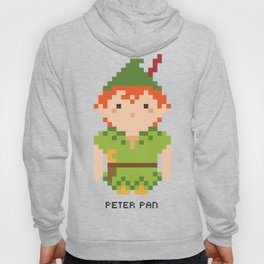 Peter Pan Pixel Character Hoody