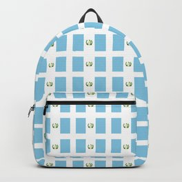 Flag of Guatemala 3-Guatemalan,Mixco,Villa Nueva,Petapa,tropical,central america,spanish,latine Backpack