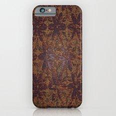 Rusty Flowers Slim Case iPhone 6s