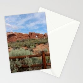 Vertical Arches National Park Stationery Cards