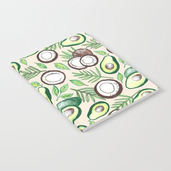 Coconuts & Avocados Notebook