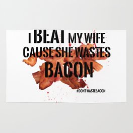 Wasted Bacon Rug