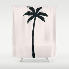 Palm Tree Arecaceae Print Shower Curtain