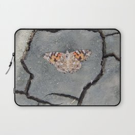 Butterfly on Crack Laptop Sleeve