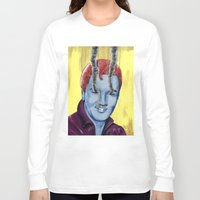 elvis Long Sleeve T-shirts featuring Elvis by FAMOUS WHEN DEAD