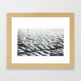 Sea of Cars Framed Art Print