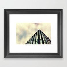 Beneath the St. Louis skyline. Framed Art Print
