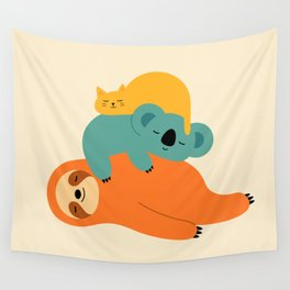 Being Lazy Wall Tapestry