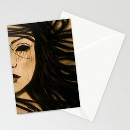 I Only See Darkness Stationery Cards