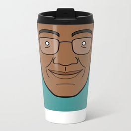 Faces of Breaking Bad: Gustavo Fring Metal Travel Mug