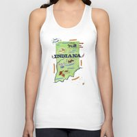 indiana Tank Tops featuring INDIANA by Christiane Engel