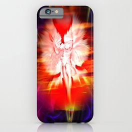 Heavenly apparition 5 iPhone Case
