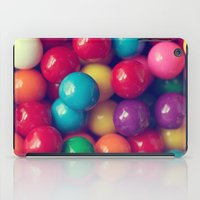 gumball iPad Cases featuring Gumball Fun by Amelia Kay Photography
