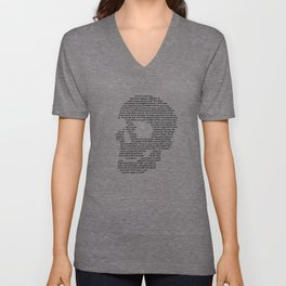 And lose the name of action Unisex V-Neck