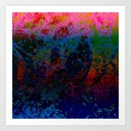 Extruding Color Art Print