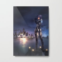 Ghost in the Shell Metal Print