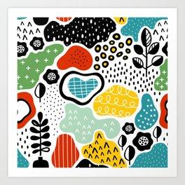 Color on Color Art Print