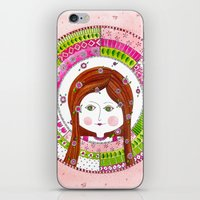 virgo iPhone & iPod Skins featuring Virgo by Sandra Nascimento