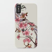blossom iPhone & iPod Cases featuring Blossom by Huebucket
