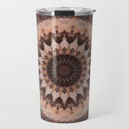 Mandala chocolate Travel Mug