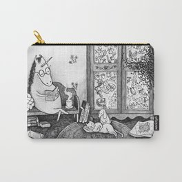 Unicorn house Carry-All Pouch