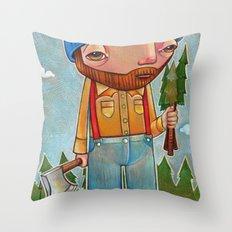 Shantyboy Throw Pillow