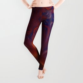 Into The Flames Leggings