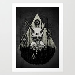 The Lake Art Print