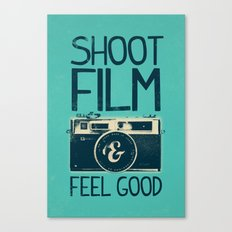 Shoot Film Canvas Print