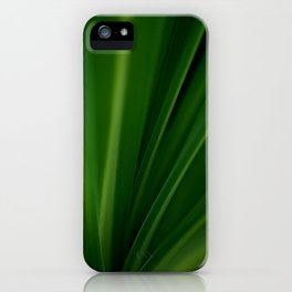 The Lushest Green of Life iPhone Case