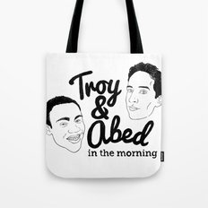 Troy & Abed In The Morning! - Community Tote Bag