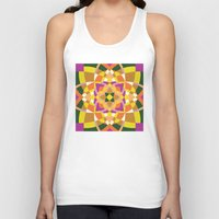 quilt Tank Tops featuring Geo quilt by Little Things Studio