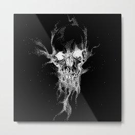 SAND SKULL Metal Print