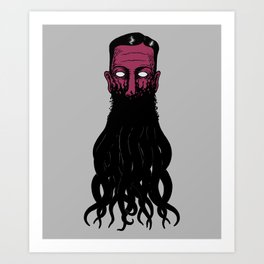 Lovecramorphosis Art Print