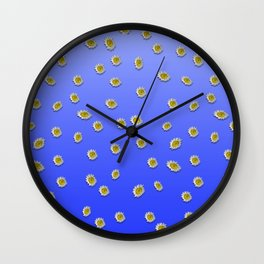 Scattered Daisies Wall Clock