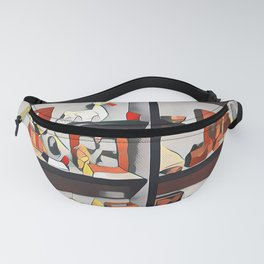 My oh my what is on the shelf?  Fanny Pack