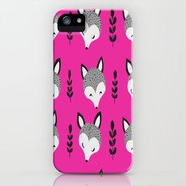 Fox II iPhone Case