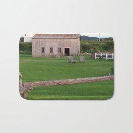 The Old Barn and Yard Bath Mat