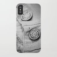 cassandra jean iPhone & iPod Cases featuring jean by Kenzie N.