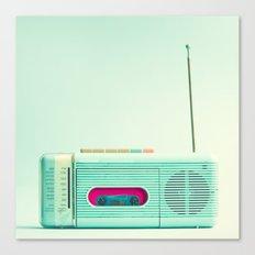 Radio Days  Canvas Print